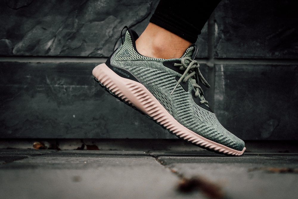 detailed look b9a11 d0db1 adidas alphabounce engineered mesh green 2