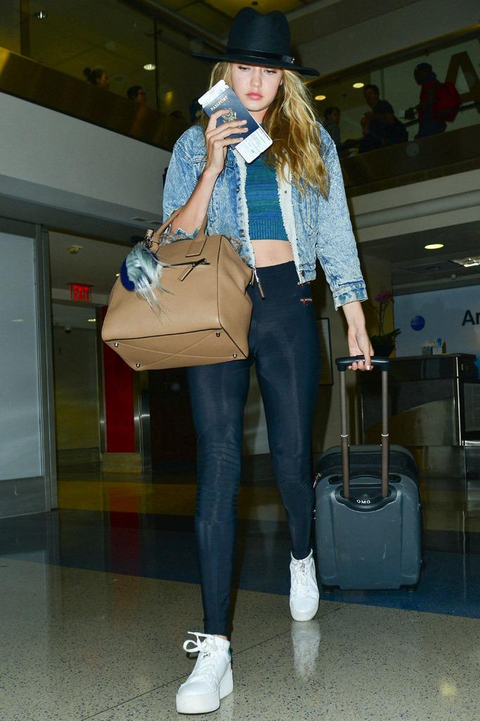 Gigi Hadid Shoe Style