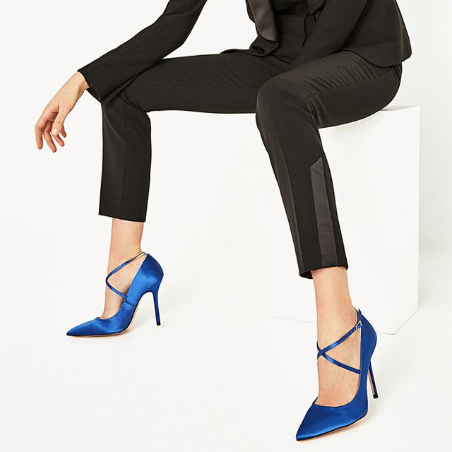 eb7acdf6b30 Clearly Zara Doesn T Think This Shoe Style Is Dead Best Designer