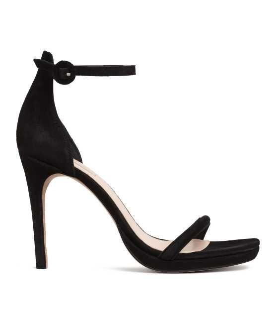 Suede Sandalettes
