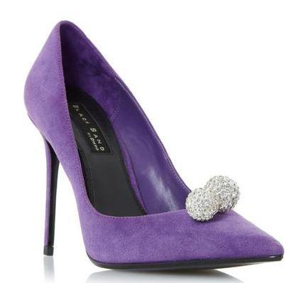 Ted Baker black court shoes