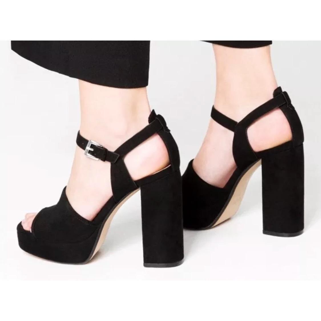 9ad7abc00f43 Zara Black Platform Sandals - Best Designer Shoes Review For You