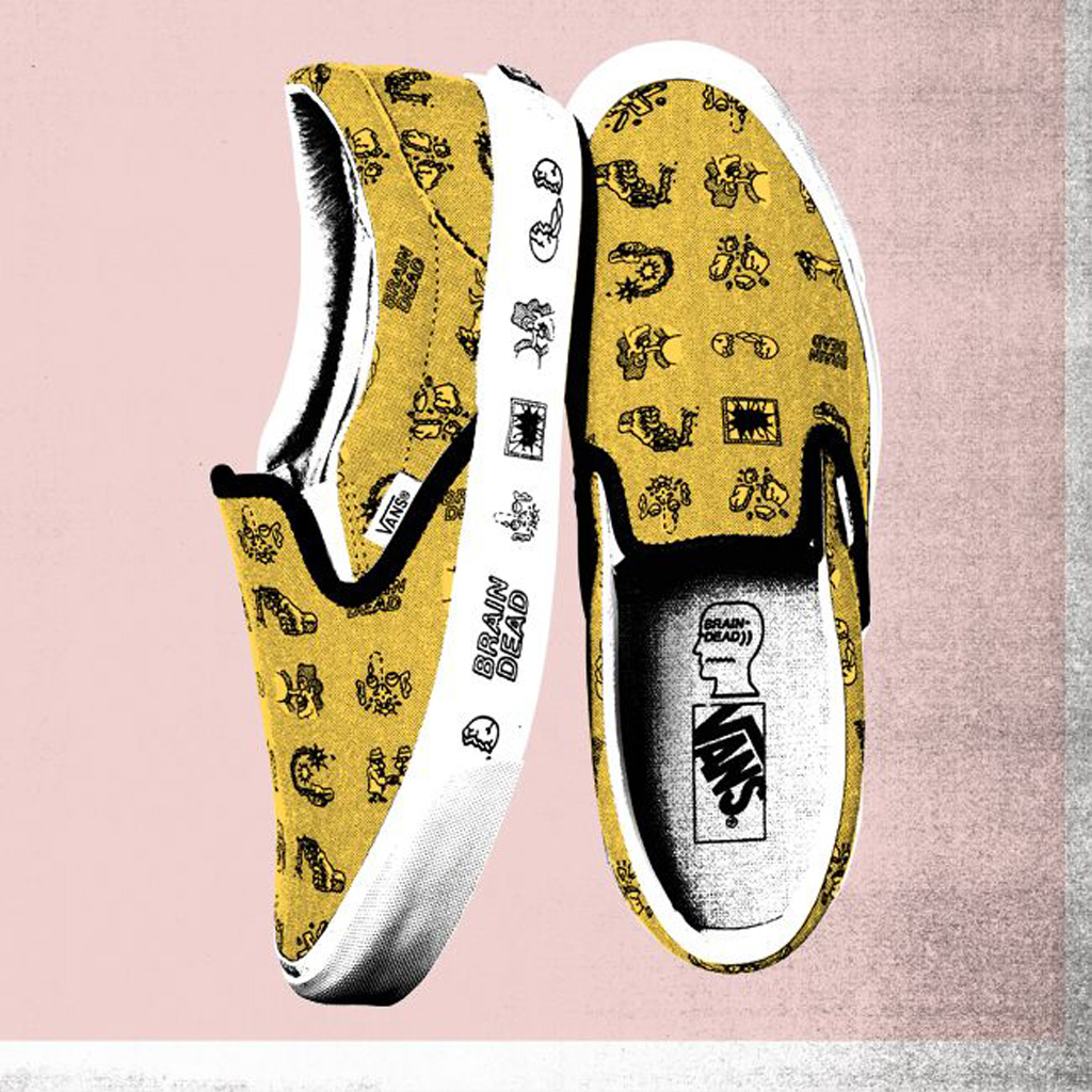 Vault by Vans x Brain Dead Classic Slip-On LX